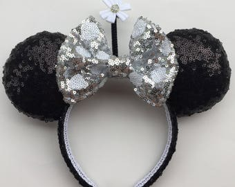Vintage Minnie Mouse Inspired Ears