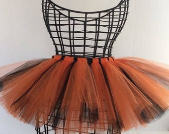 Witch tutu tulle skirt - Halloween tutu - Witch tutu - Adult tutu skirt - Adult tutus - Adult Costume - Woman Halloween Costume