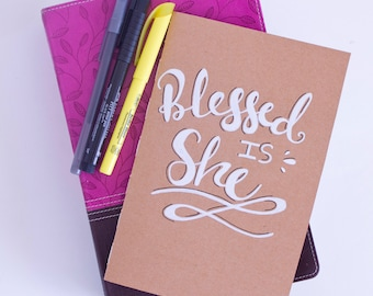 Blessed is She Christian Scripture Journal
