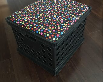 Storage Seat Crates ~ TOPS ONLY