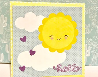 Hello Card • Just Because • Springtime • Sunshine • For Anyone