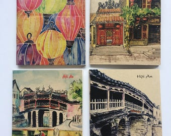 Choose 1 or more sketch books from Hoian Vietnam