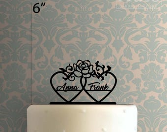 Custom Hearts 225-193 Cake Topper