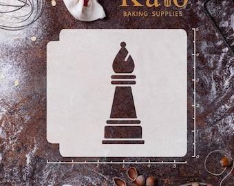 Chess Piece Bishop 783-462 Stencil
