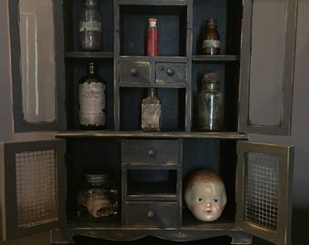 "Oddities and Curiosities ""CABINET"" - Oddities Not Included - Macabre"