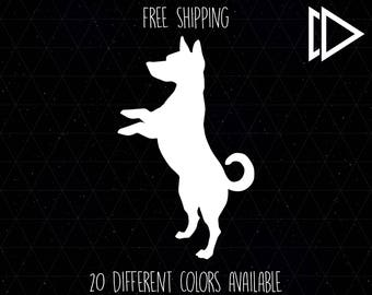 Jack Russell Terrier Silhouette Decal
