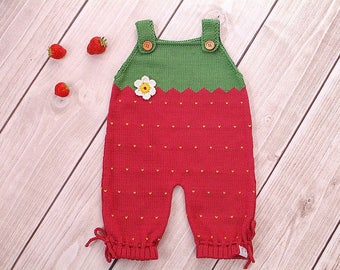Baby of rompers Strawberry