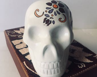 Ceramic sugar skull