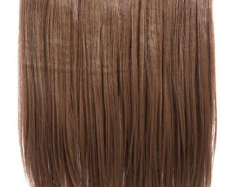 Hair extensions One Piece Straight clip in extension heat resistant synthetic hair