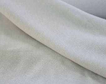 Free Shipping - Cream Cotton Double Knit - Made in Japan