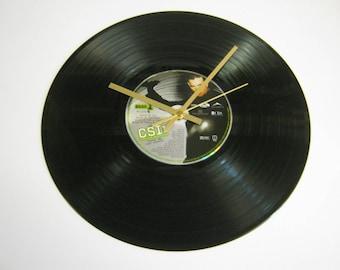 CSI Special Unique DVD Record Wall Clock Gift