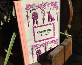 Vintage Under The Lilacs by Louisa May Alcott