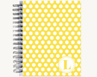 Personalized Notebook – Journal | Bound | Diary | Custom | Bold Dot