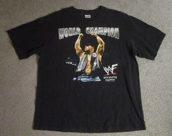 WWF WWE Stone Cold Steve Austin World Champion xl shirt