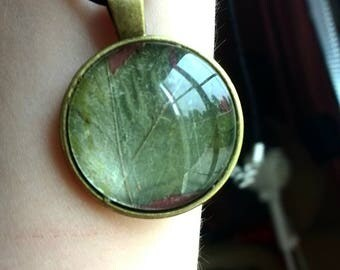 Pressed Leaves Necklace