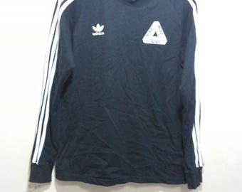 ADIDAS X PALACE men t-shirt long sleeves size XL slimfits