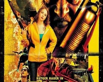 Summer Sale HOBO WITH A Shotgun Movie Poster Horror Rutger Horror