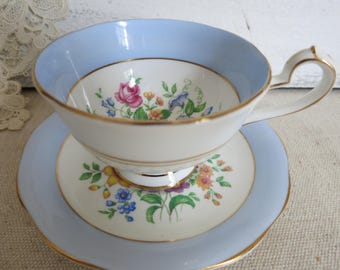 Vintage Queen Anne Tea Cup Fine Bone China Made in England Tea Time Bridal Shower Gift for Her