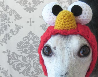 Elmo Snood for Greyhounds