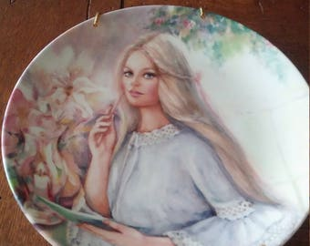 Mary Vickers Decorative Plate 'The Love Letter'