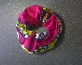Darling handmade multicolored African print fabric