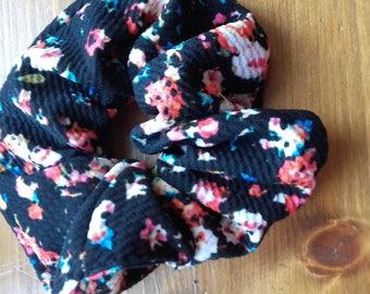 scrunchie made fabric cotton elastane