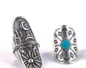 Western style rings
