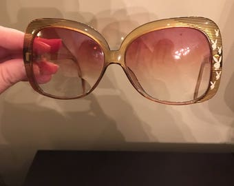 Vintage Playboy Bunny Optyl Frames Eyeglasses Austria Excellent Condition
