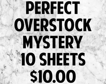 Perfect Quality Overstock Grab Bags 10 sheets