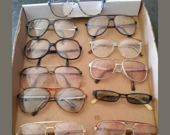 Vintage eyeglasses collection