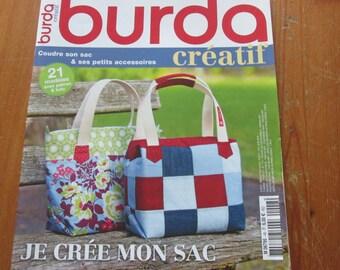 Creative magazine Burda sewing bag and small accessories