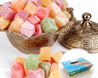 Mixed mini Turkish Delight (Lokum)