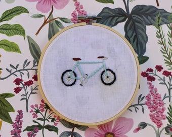 Baby Blue Bike