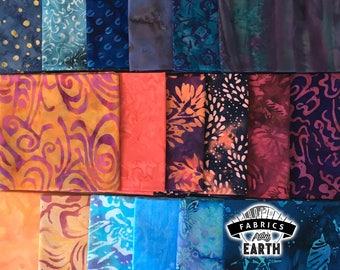 Landing Party Batik 18 Fat Quarter Bundle - Quilting Fabric