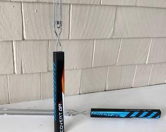 WARRIOR Hockey Stick ROASTING FORKS - Set of 2