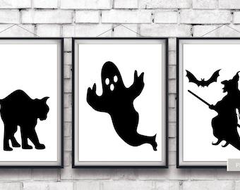 halloween print halloween printable art halloween printables halloween window decoration halloween decorations