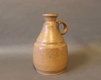 Light brown ceramic jug, 1970s