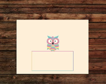 Bohemian Bird - Envelope Set - A2 Envelopes