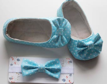 Baby Shoes Baby Slippers Baby Booties Ballet Shoes Mary Jane Shoes Crib Shoes Ballerina Shoes Baby Girl Shoes Prewalker Shoes Baby Headband