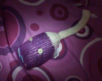 Lemon and Purple with Lemon Eyes Midi Meeser