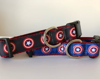 Captain America 1 inch Collar