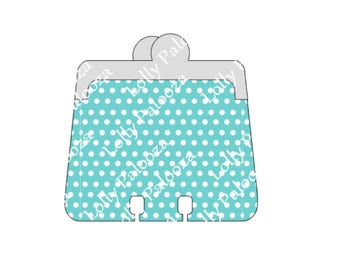 Coin Purse MemoryDex Card, Greeting Card DIGITAL Files.  Instant Download.  PNG, SVG, Studio Files.  No Physical Shipping.