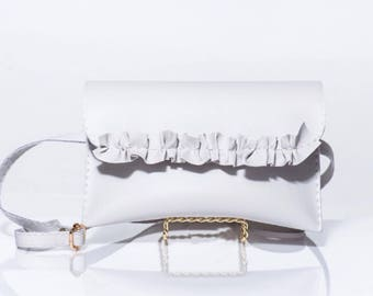 Light Lavender Fanny Pack/ Waist Belt/ Hip Pouch