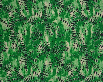 """Home Decor Fabric, Abstract Print, Indian Fabric, Sewing Accessories, 44"""" Inch Cotton Fabric By The Yard ZBC8653D"""