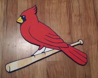Cardinals Sign, Wooden Cardinals Sign, St. Louis Cardinals, St. Louis Cardinals sign