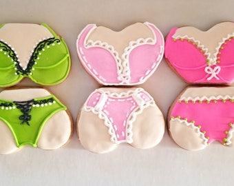 Lingerie cookies (12)