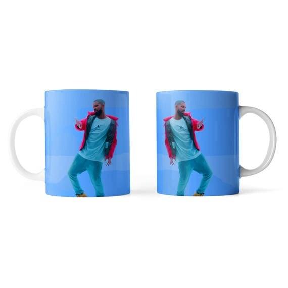 Drake hotline bling mug - Funny mug - Rude mug - Mug cup 4P033