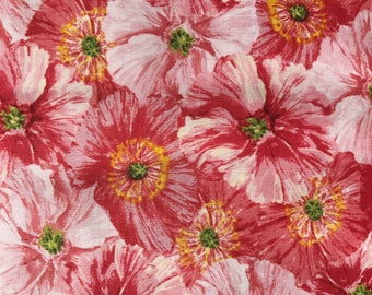 Poppy Garden cotton fabric collection from Clothworks
