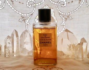 Chanel, Cuir de Russie, 250 ml. or 8.5 oz. Flacon, Eau de Cologne, 1924, Paris, France ..