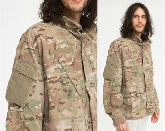 Army Shirt / Hunting Camouflage / Size L